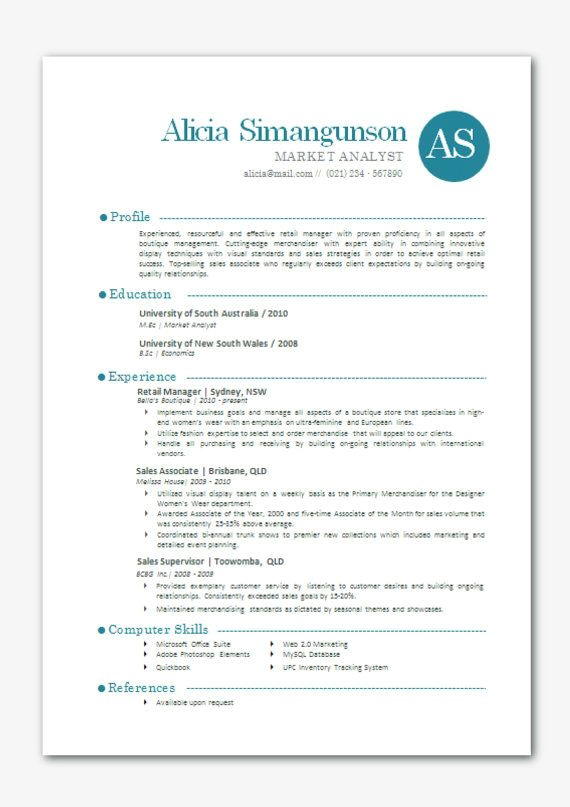 Resume Templates For Microsoft Word 10