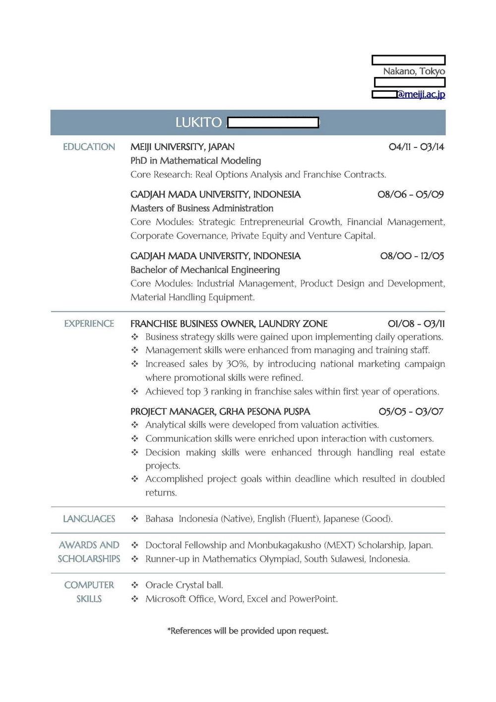Resume Writing Service Atlanta Ga
