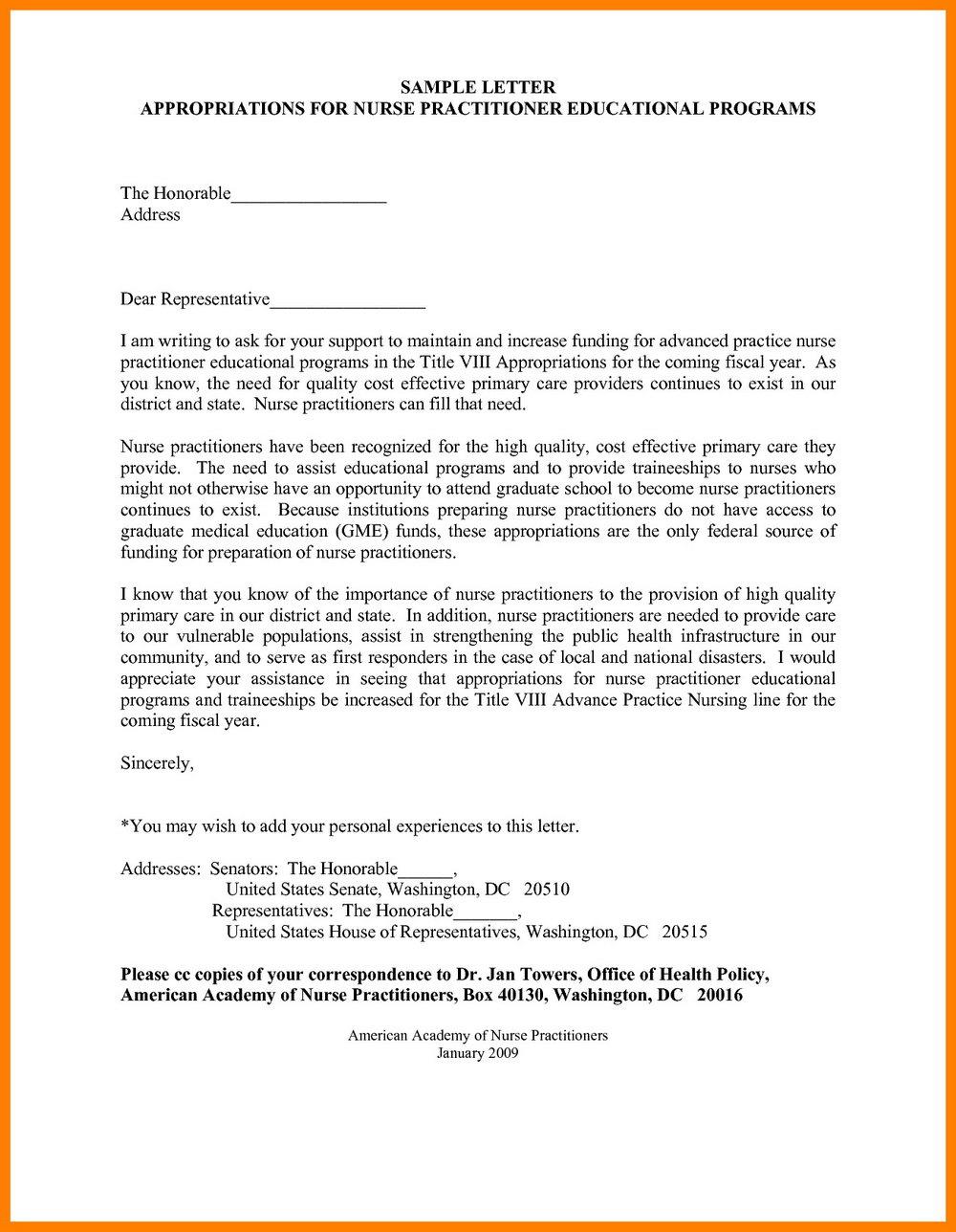 Sample Resume For Nurse Practitioner