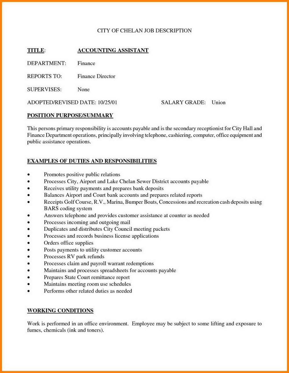 Sample Resume Staff Nurse Job Description
