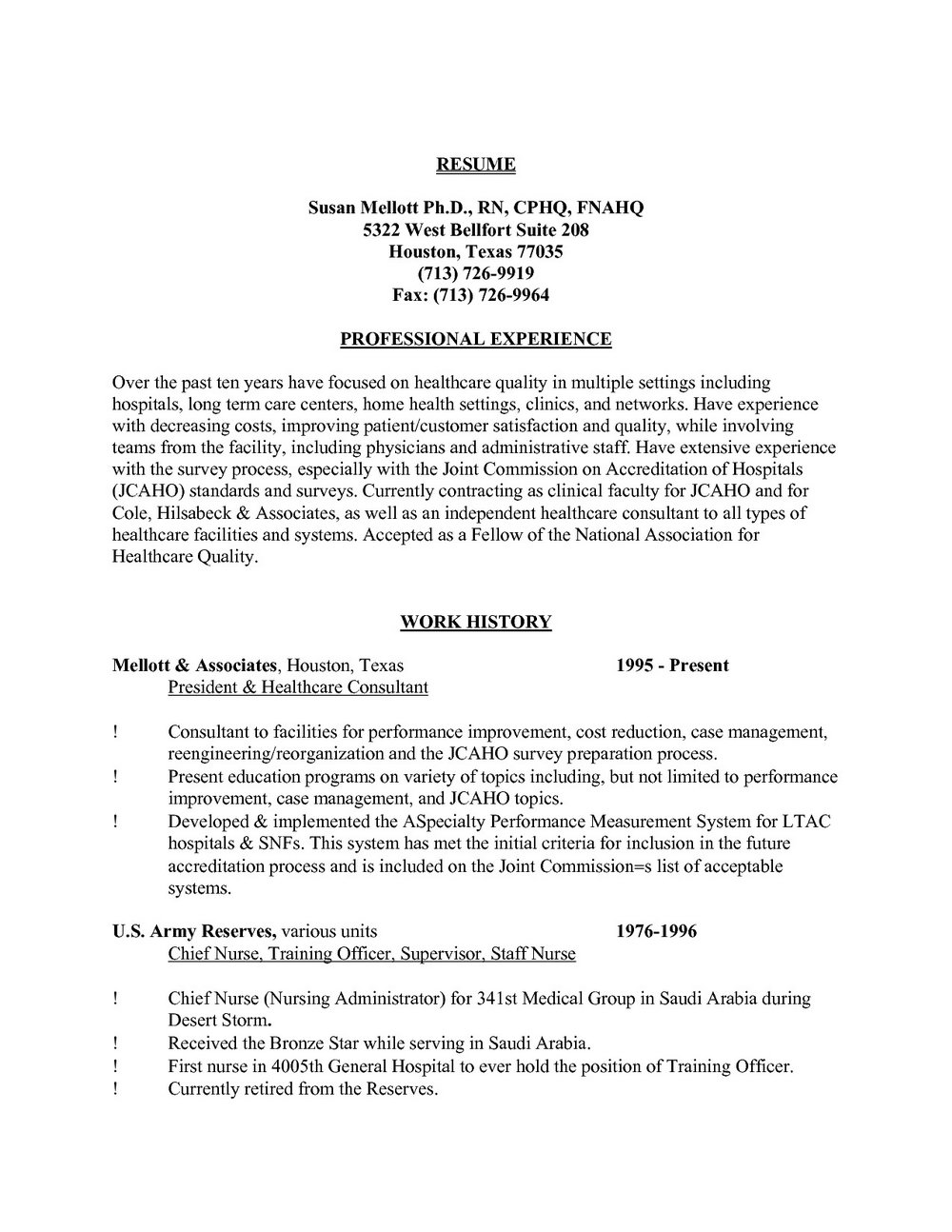 Sample Rn Resume Home Health