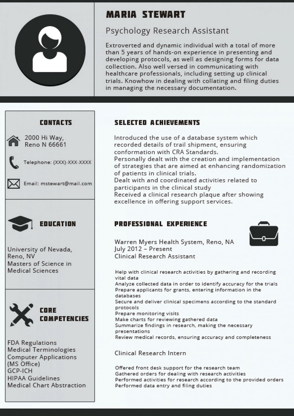 samples of best professional resumes  universal network