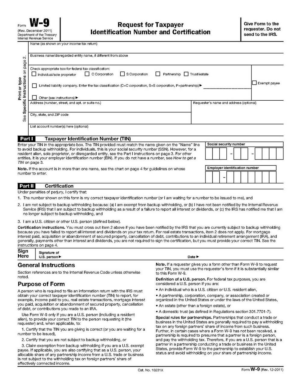 1099 Form 2011 Printable Free