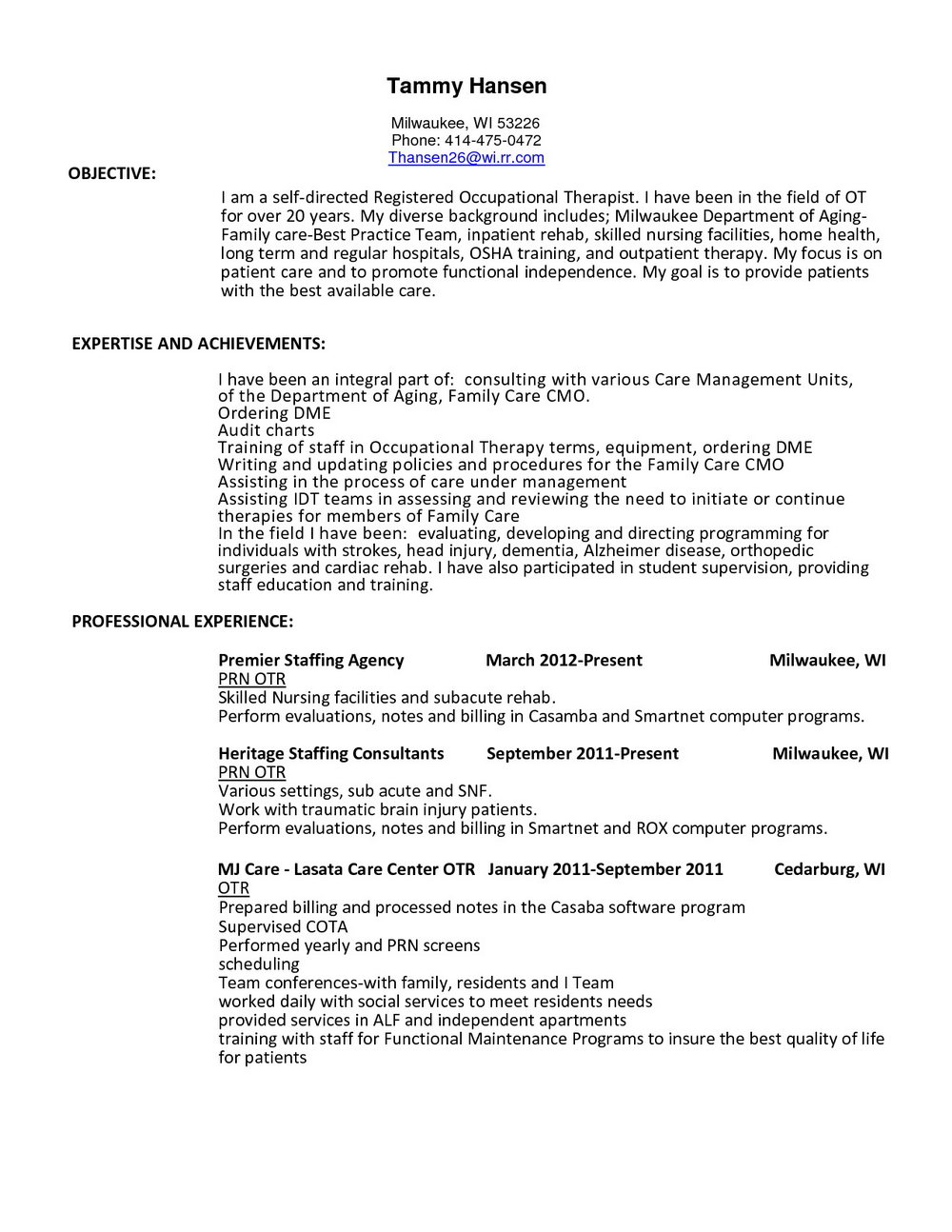 3.3.4 Respiratory Therapy Resume Examples