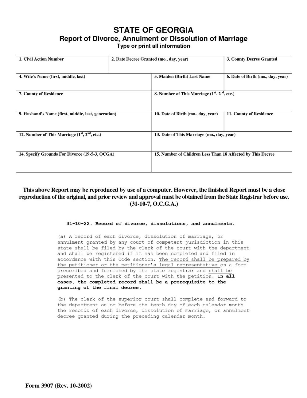 Florida Divorce Forms Broward County