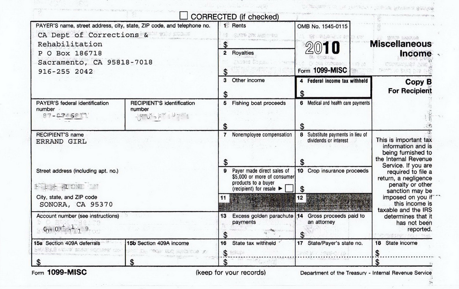 Form 1099 Misc Due Date