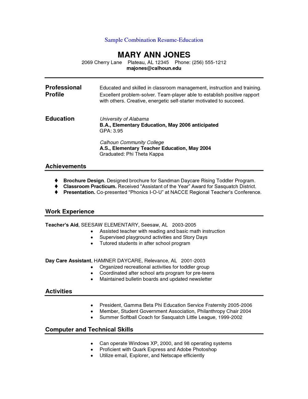 Free Resume Template Downloads Australia