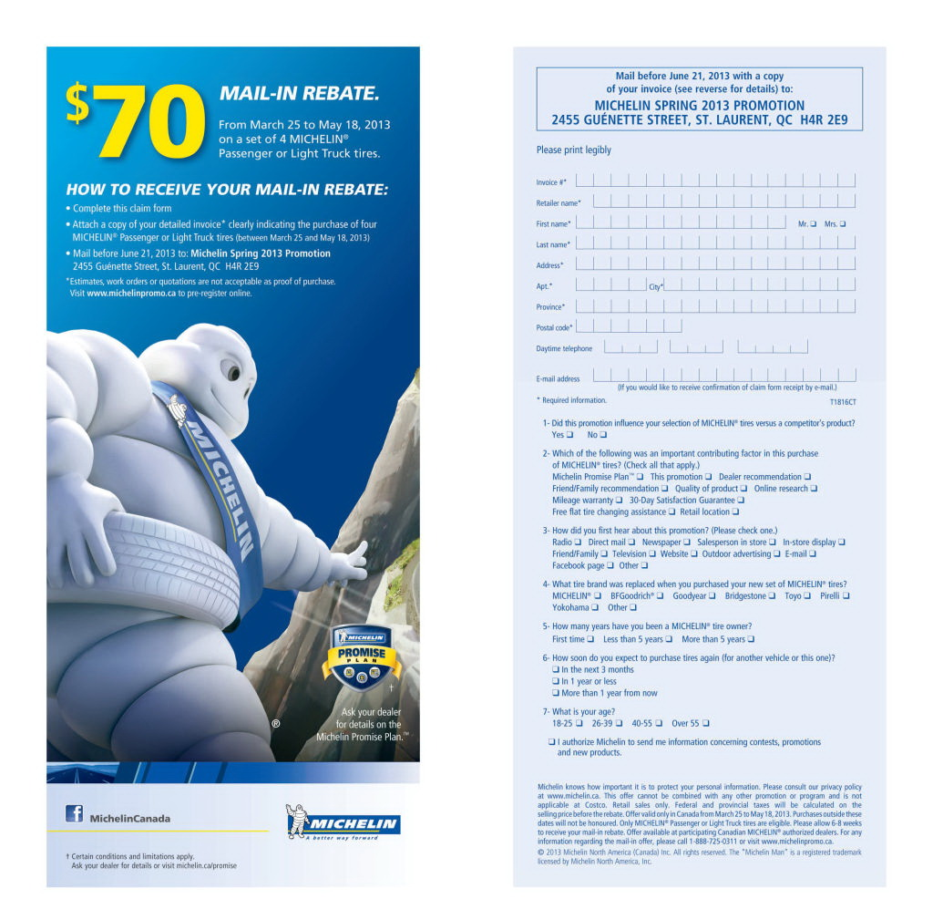 Goodyear Rebate Form 2018