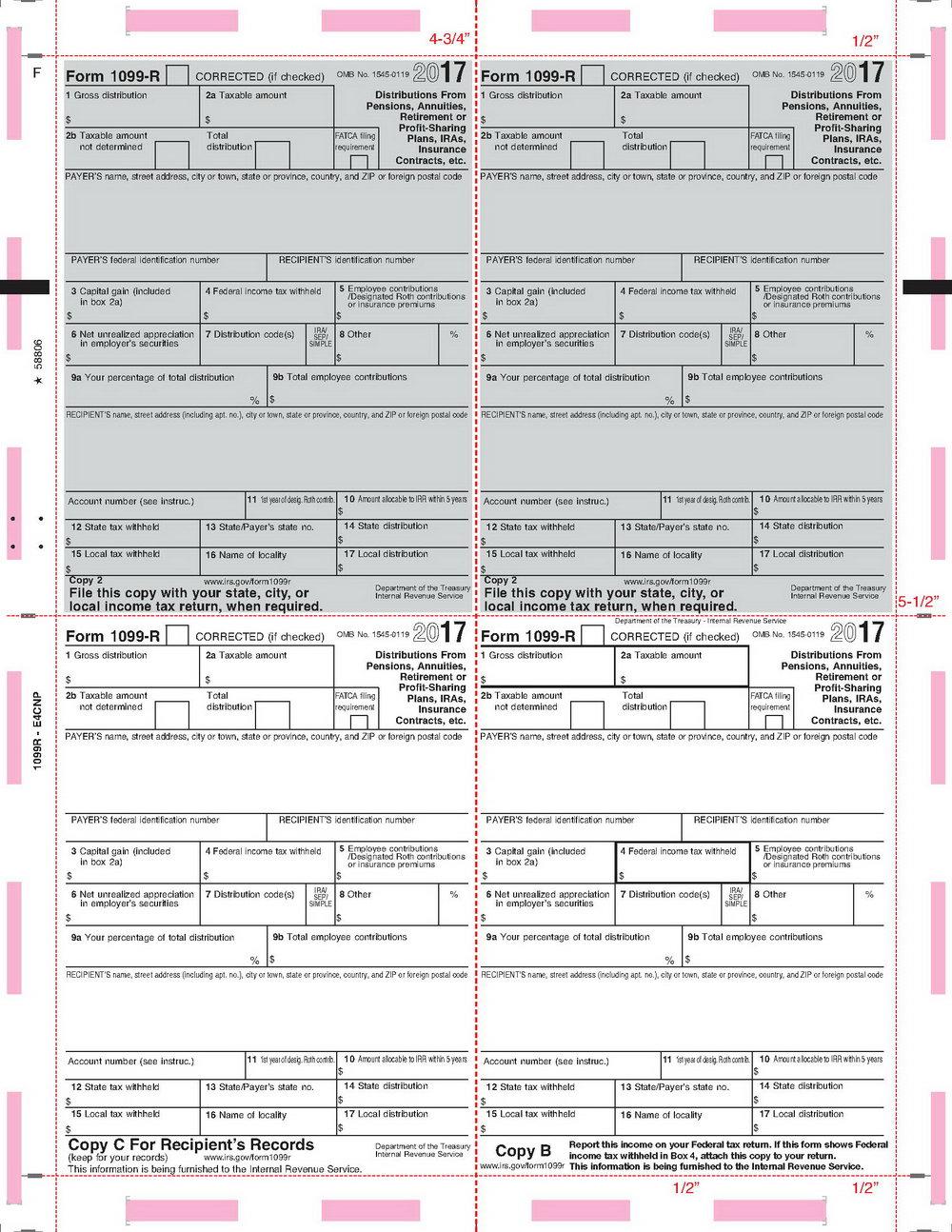Irs Form 1099 B 2017