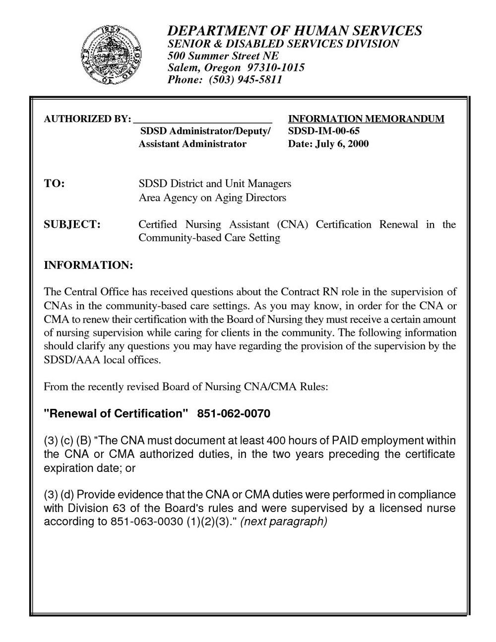 Nurse Aide Registry Renewal Form Wi