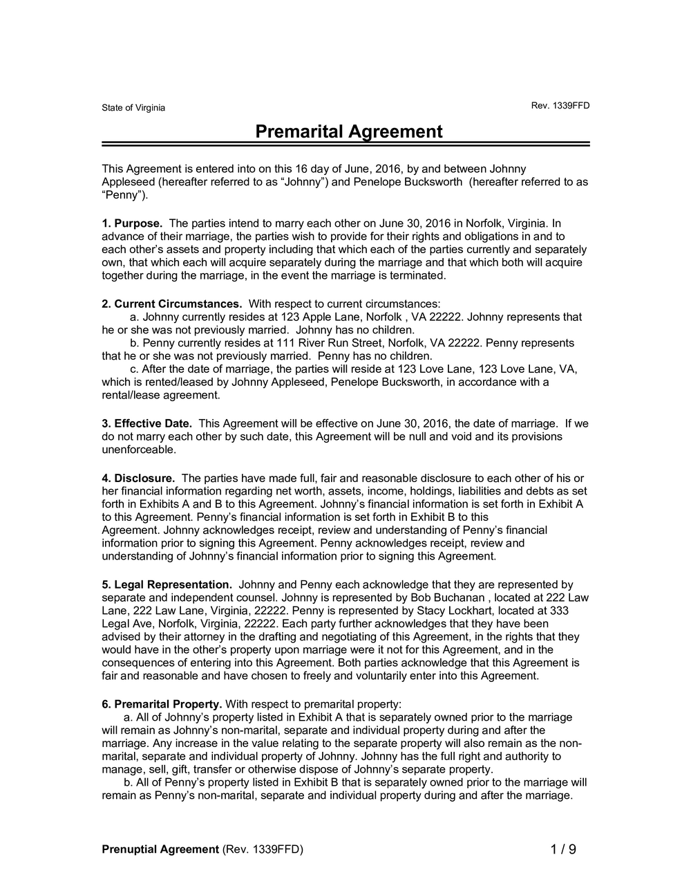 Prenuptial Agreement Form Philippines