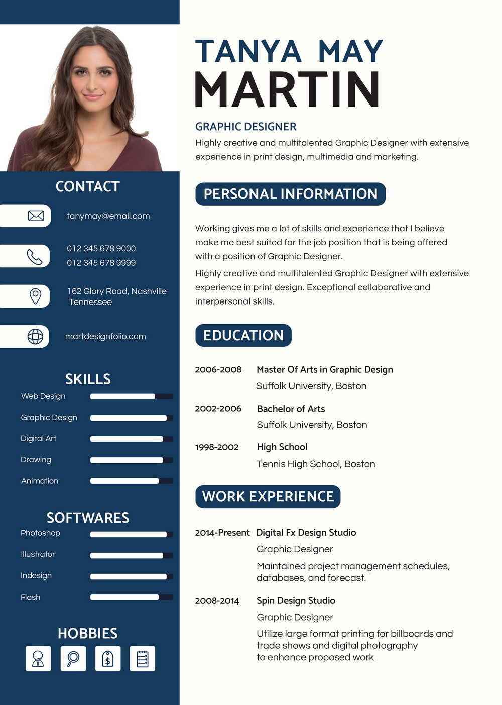 Professional Resume Format Samples Free Download
