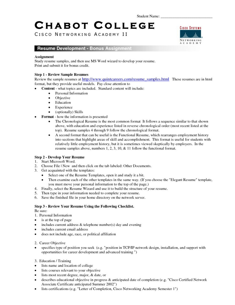 Resume Format Download In Ms Word In India