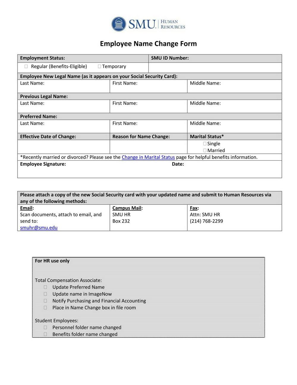 Ssa.gov Forms Name Change