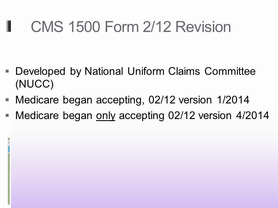 Medicare Cms 1500 Form Pdf