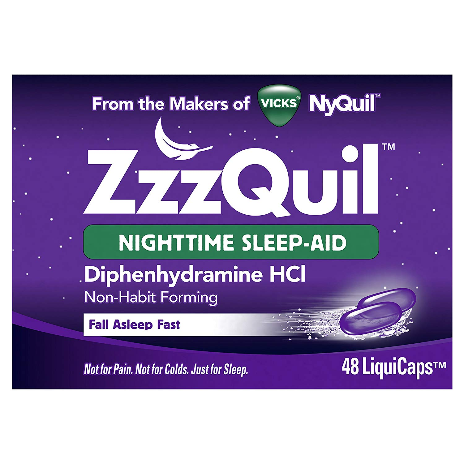Non Habit Forming Sleep Aid Zzzquil