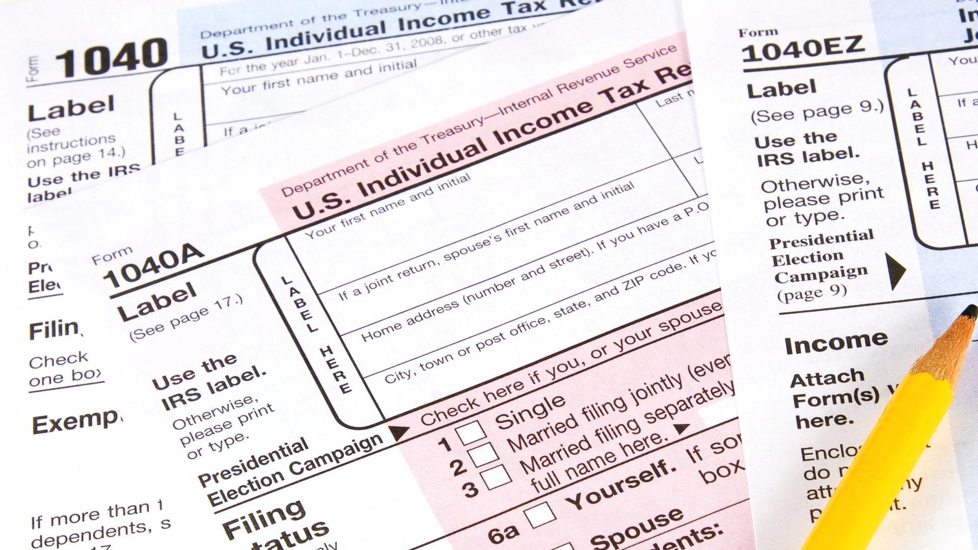 Printable Tax Forms 1040ez