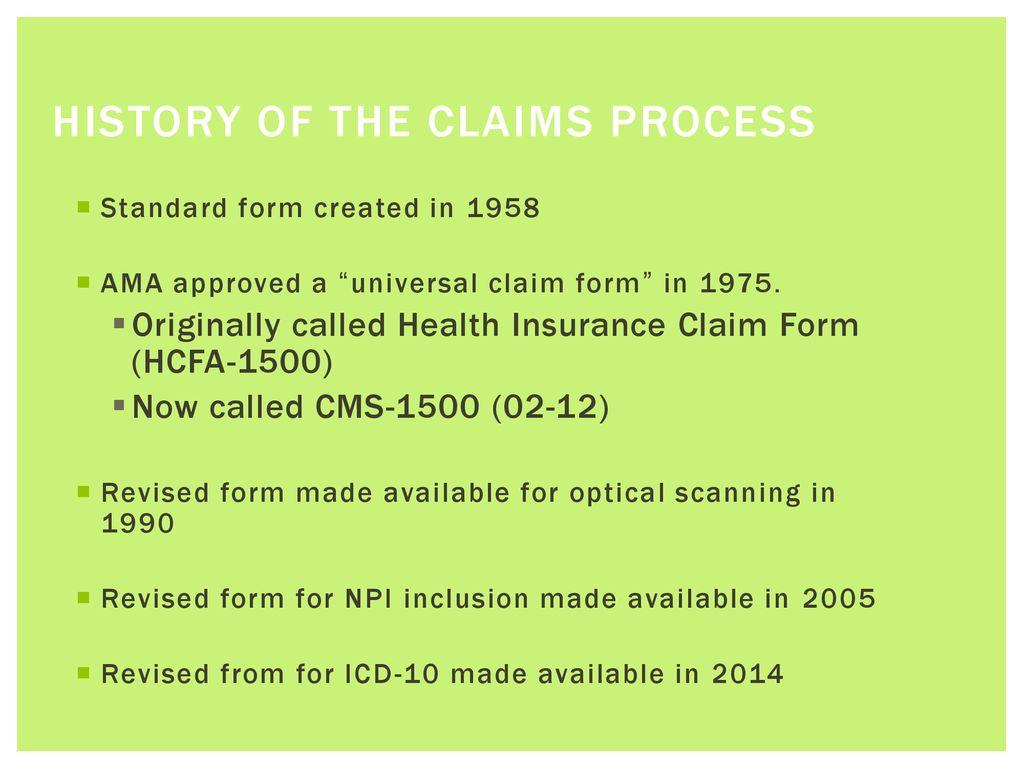 1500 Health Insurance Claim Form 0212
