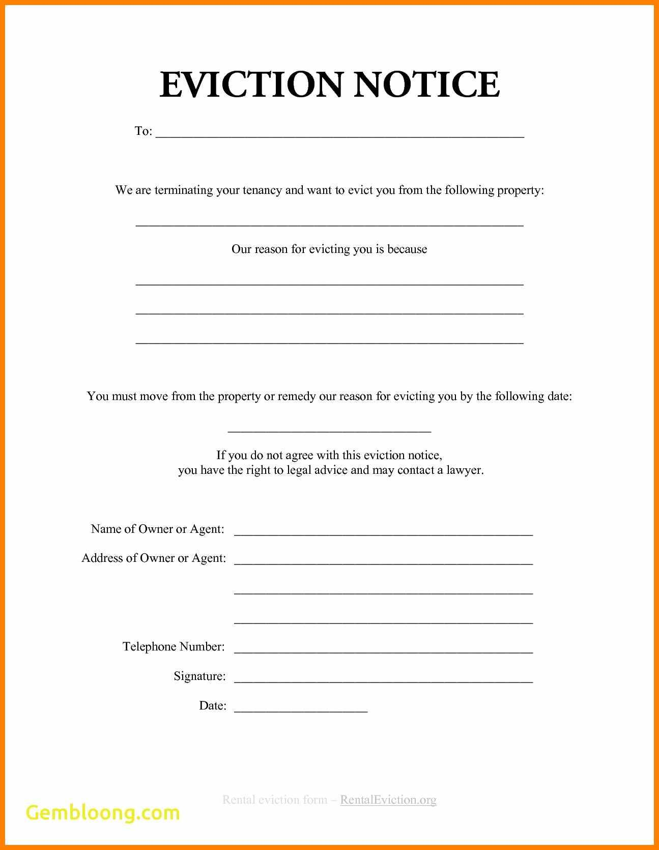 30 Day Eviction Notice Form Illinois