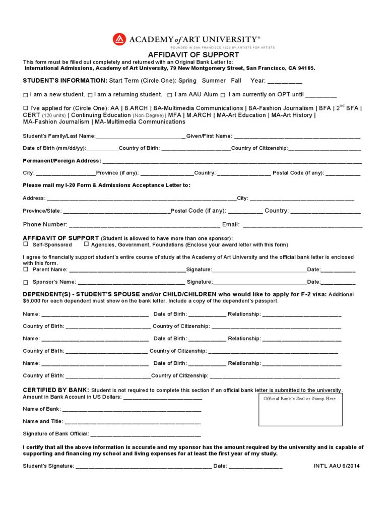 Affidavit Of Domicile Form New Jersey