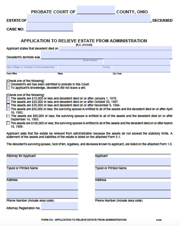 Affidavit Of Heirship Form Mississippi