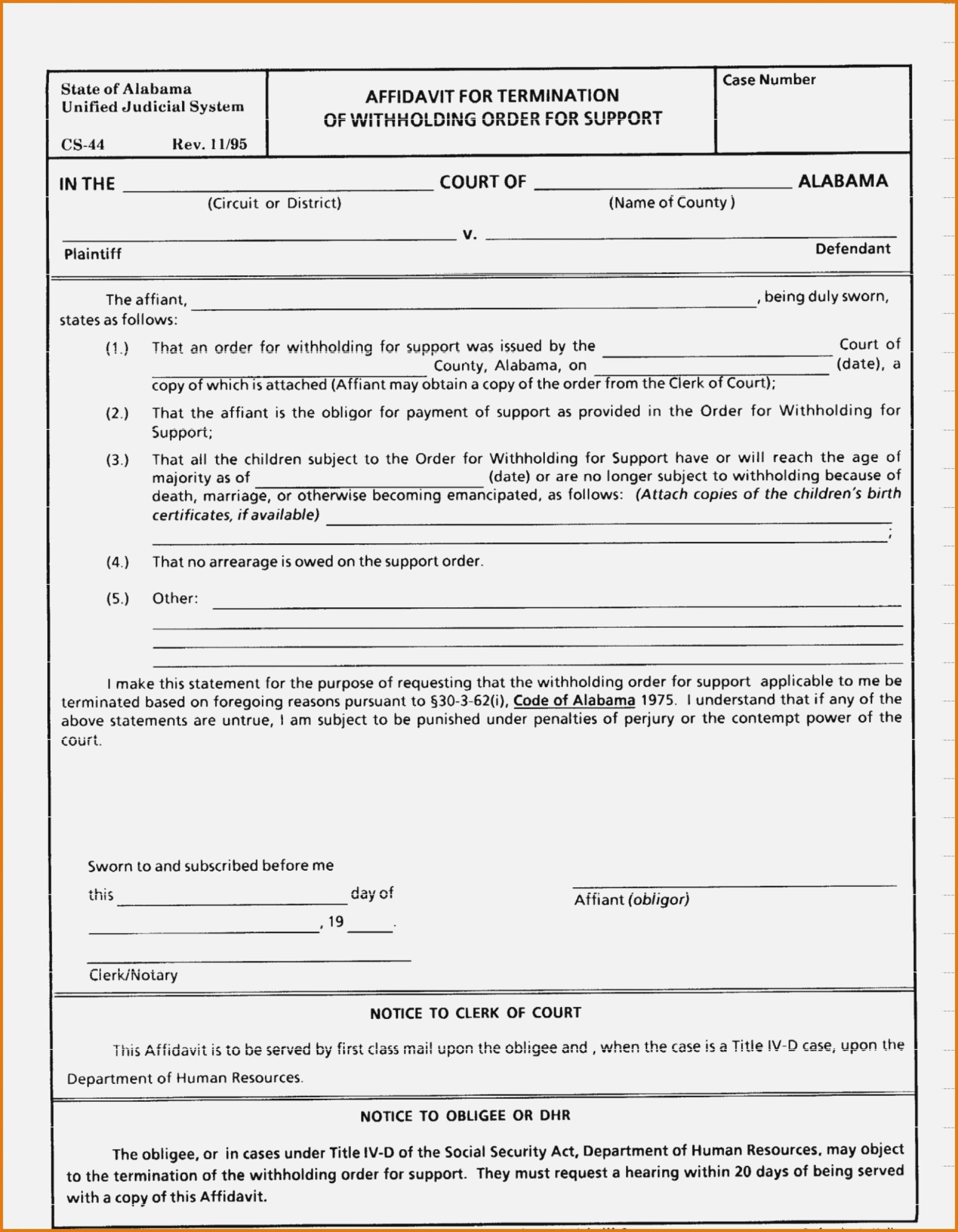 Birmingham Alabama Divorce Forms