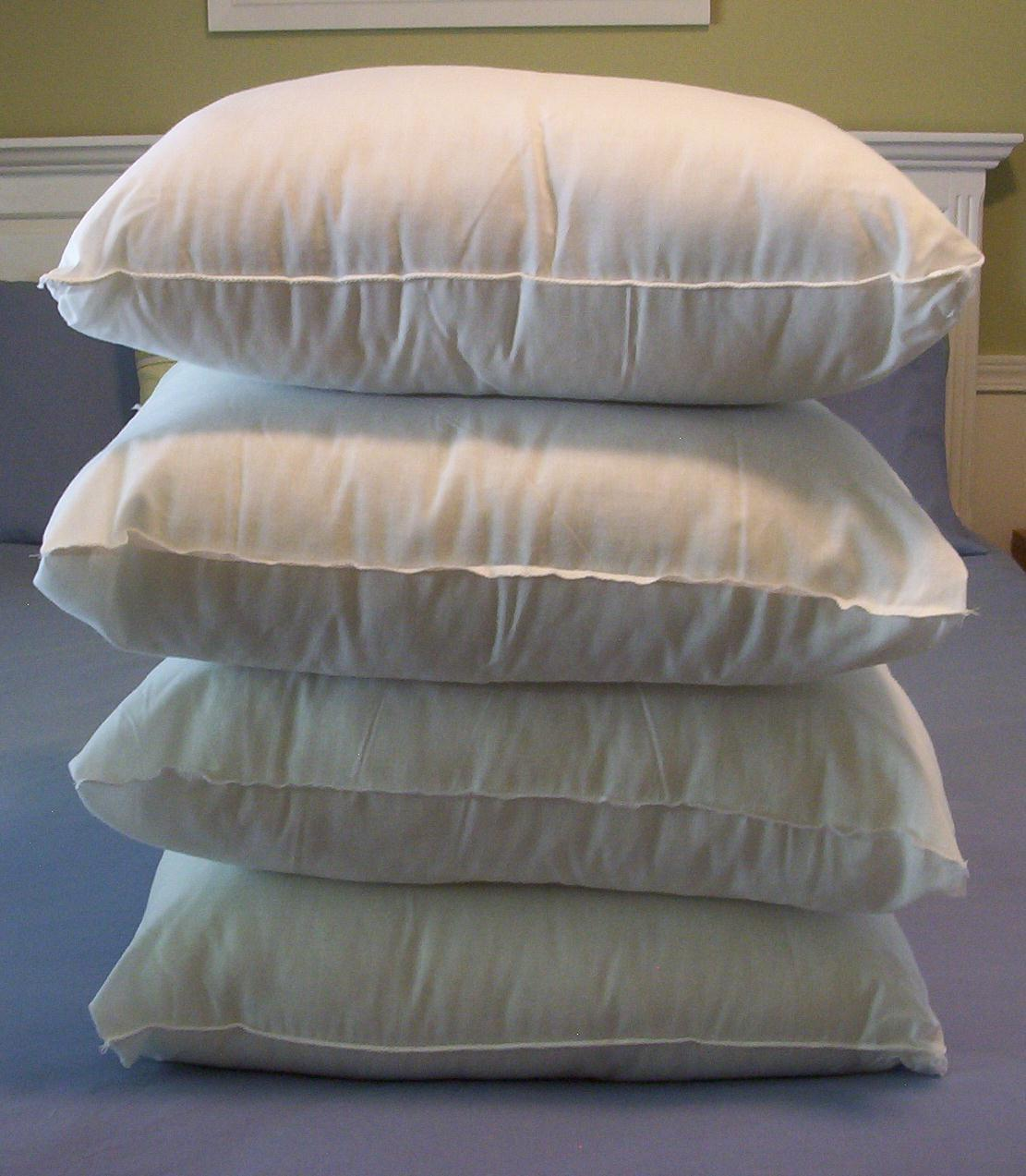Bolster Pillow Forms Wholesale