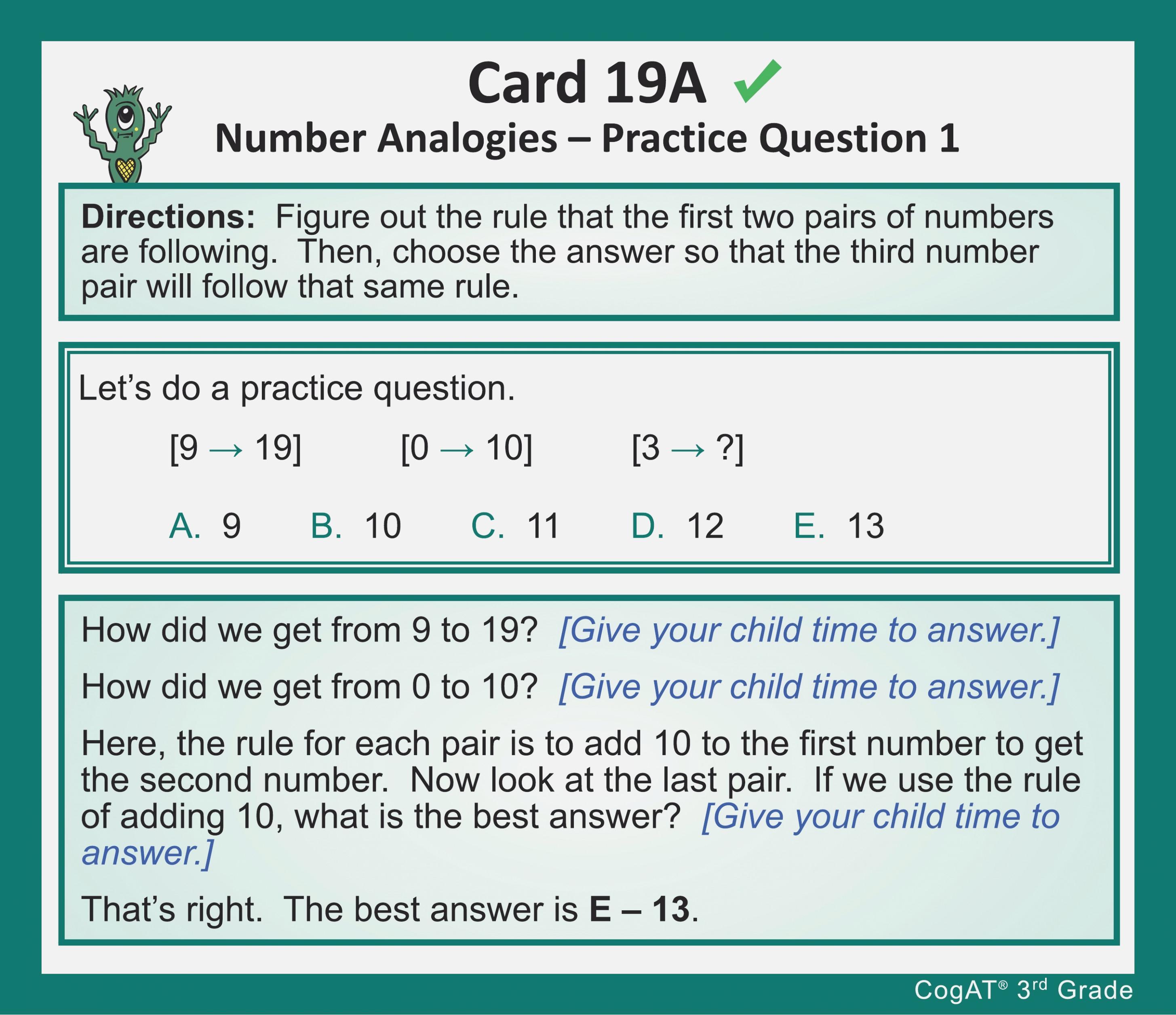 Cogat Form 7 Level 10