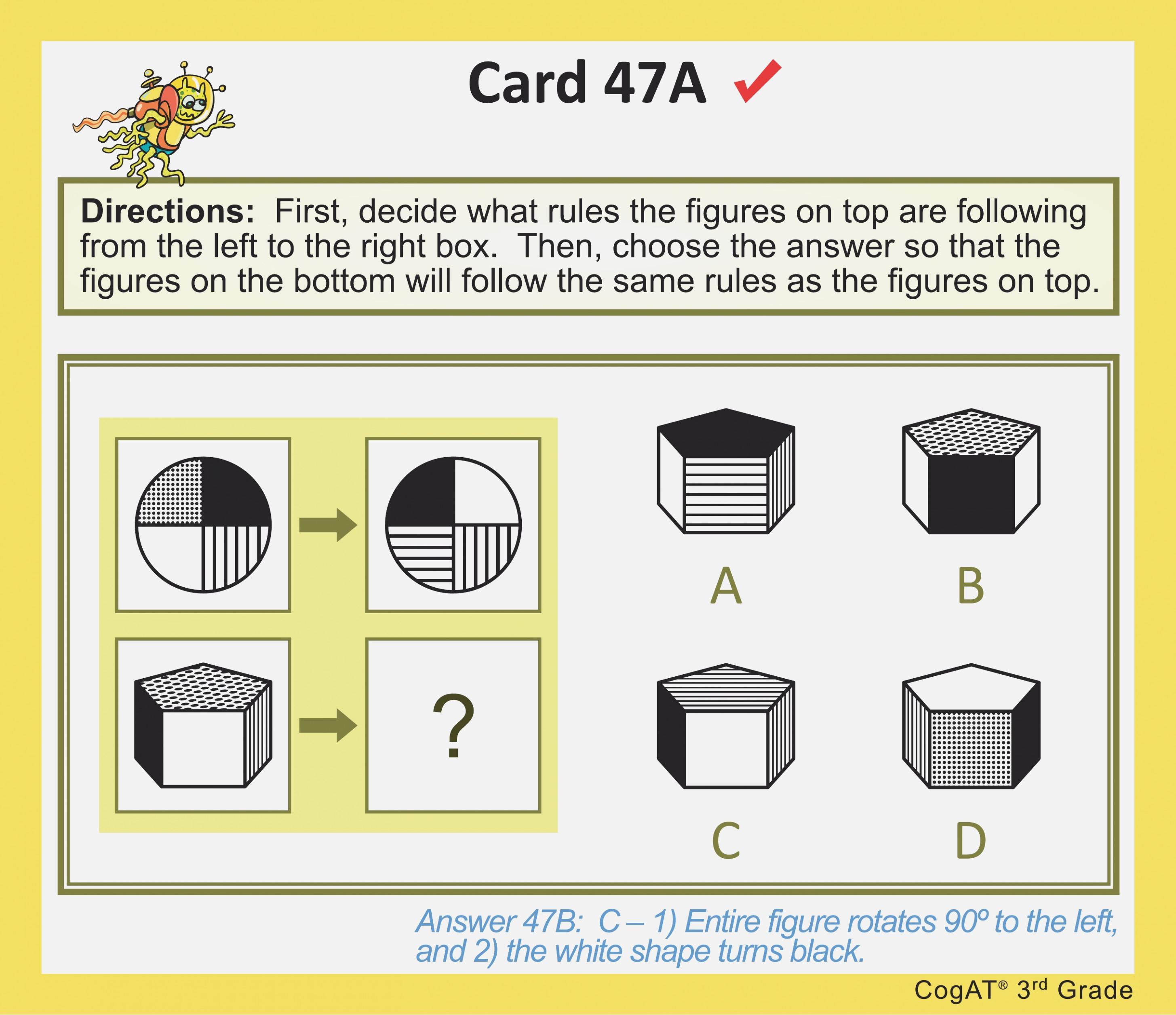 Cogat Form 7 Level 12