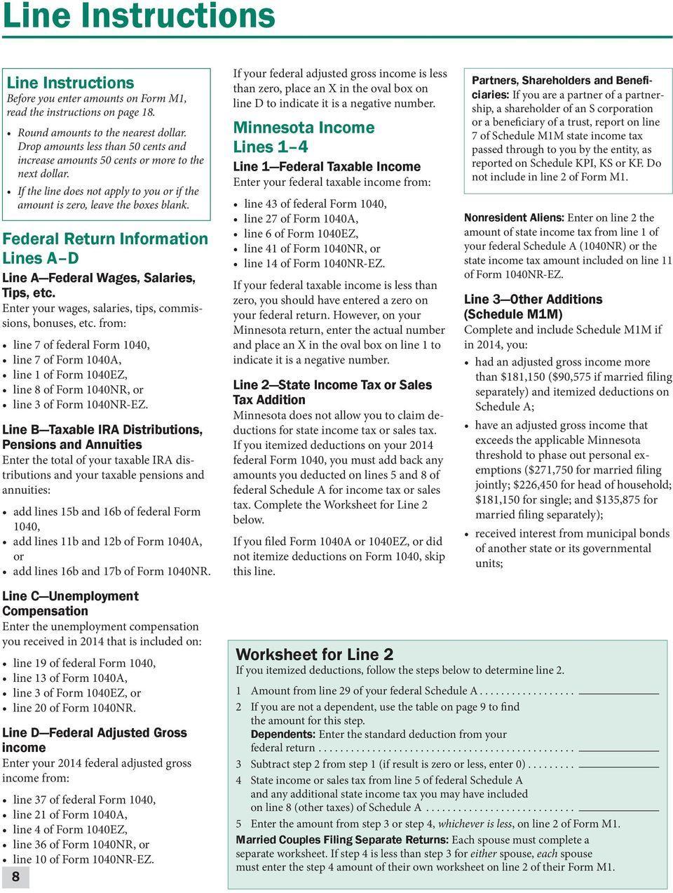 Federal Tax Form 1040ez Fillable