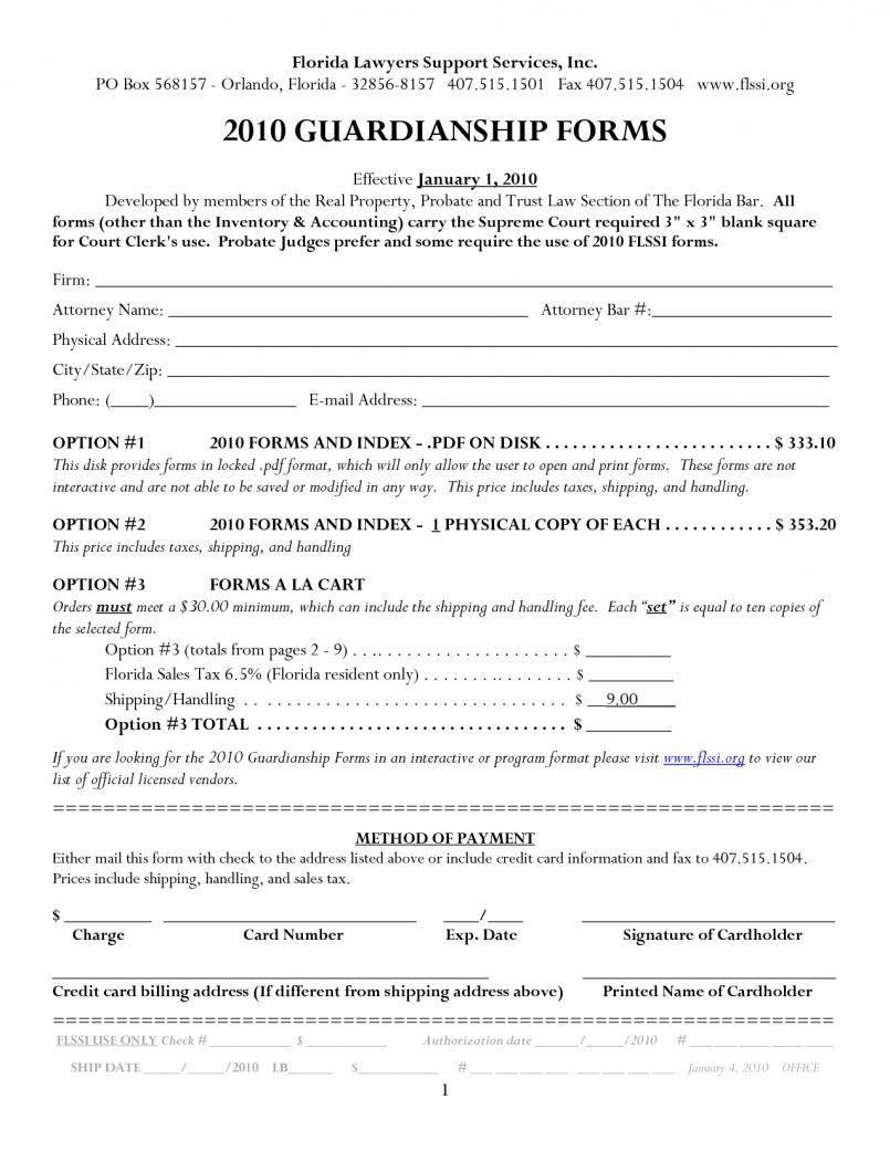 Florida Bar Probate Forms Free