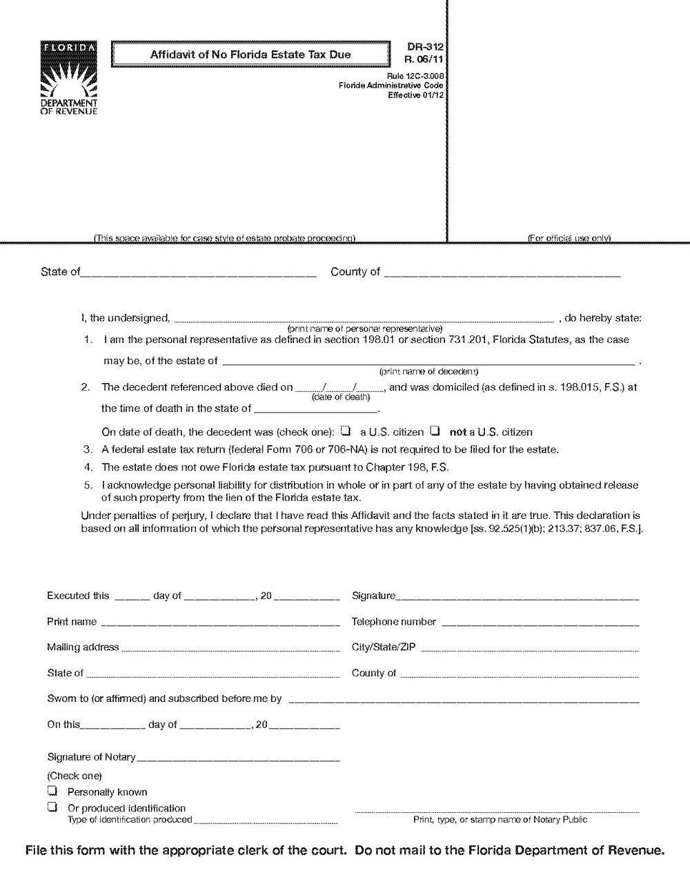 Florida Probate Forms Software