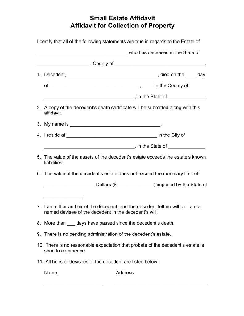 Florida Probate Forms Workflow