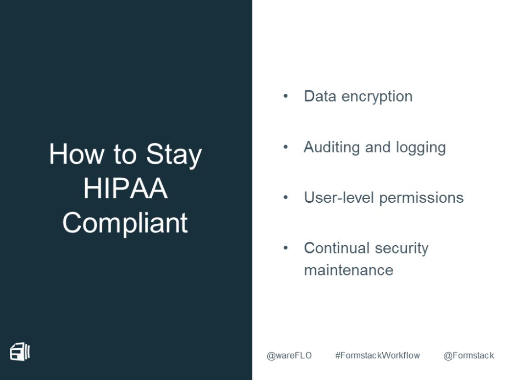 Formstack Hipaa Compliance