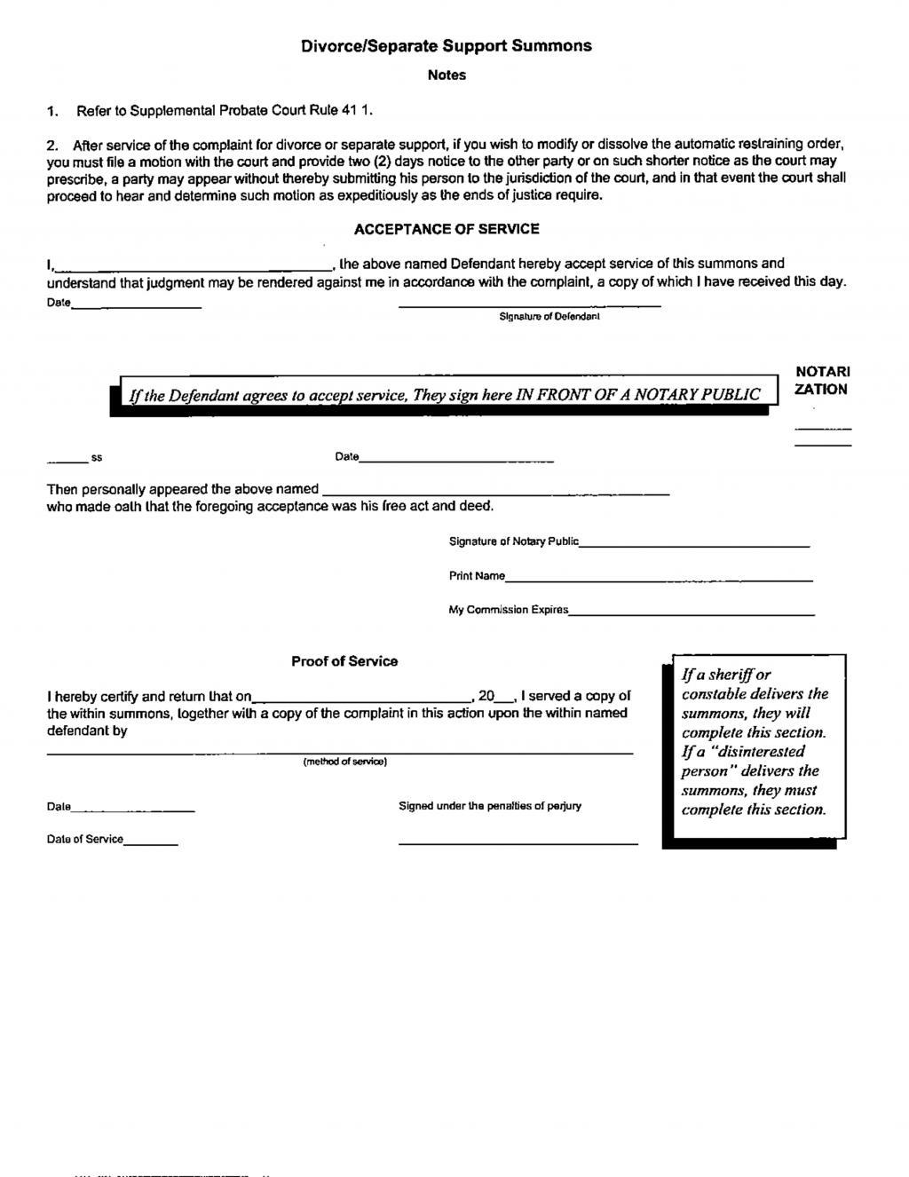 Free Alabama Divorce Forms Download