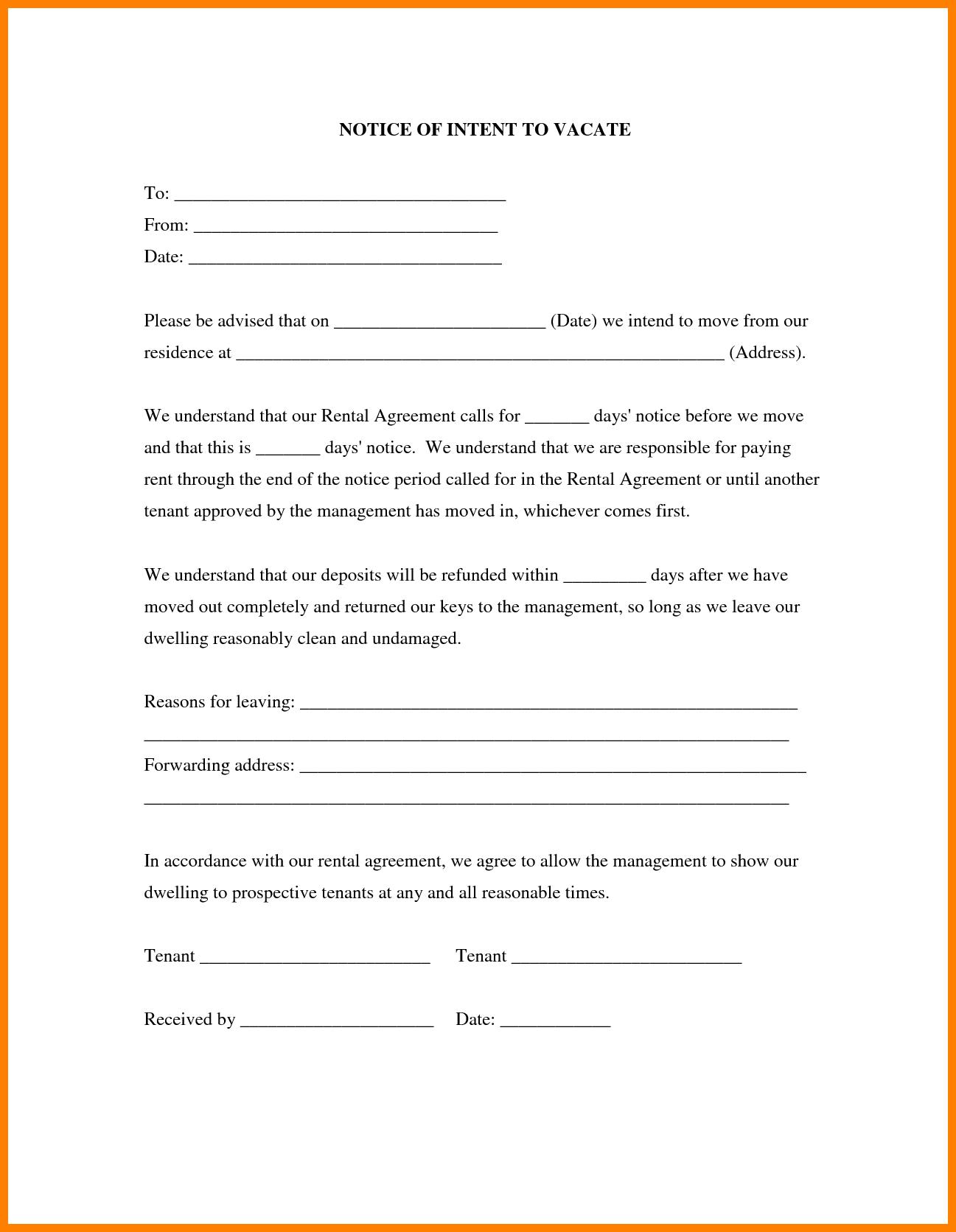 Free Printable 30 Day Eviction Notice Form