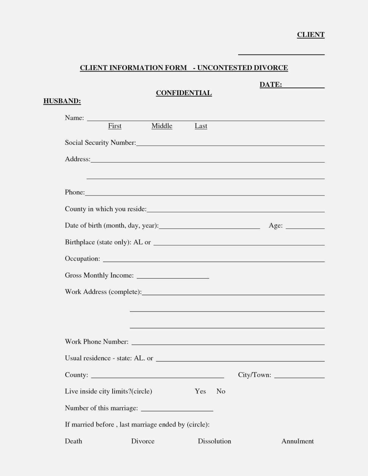 Free Printable Arkansas Divorce Forms