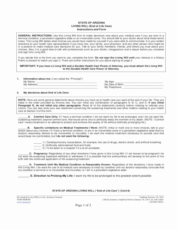 Free Promissory Note Form Arizona