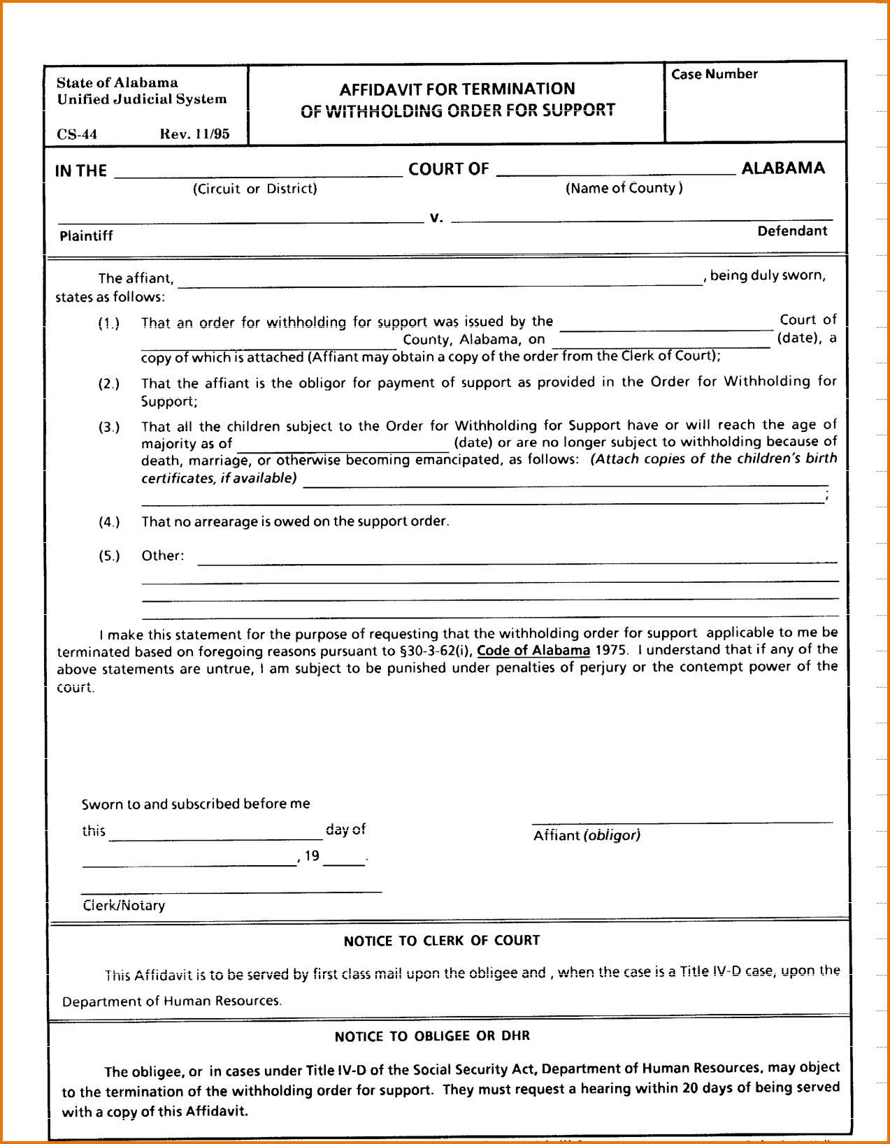 Georgia Contested Divorce Forms