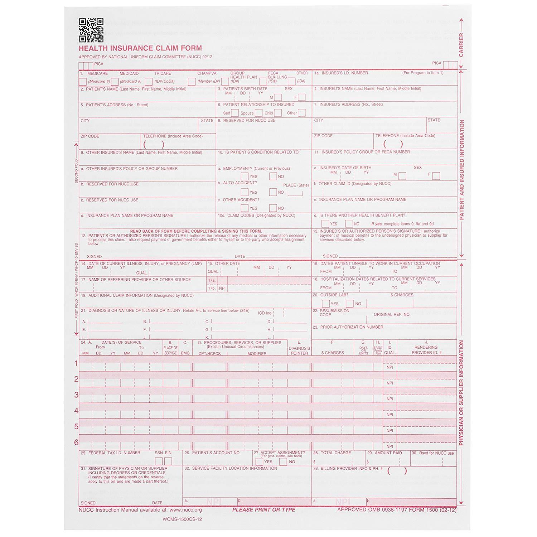 Hcfa 1500 Forms Amazon
