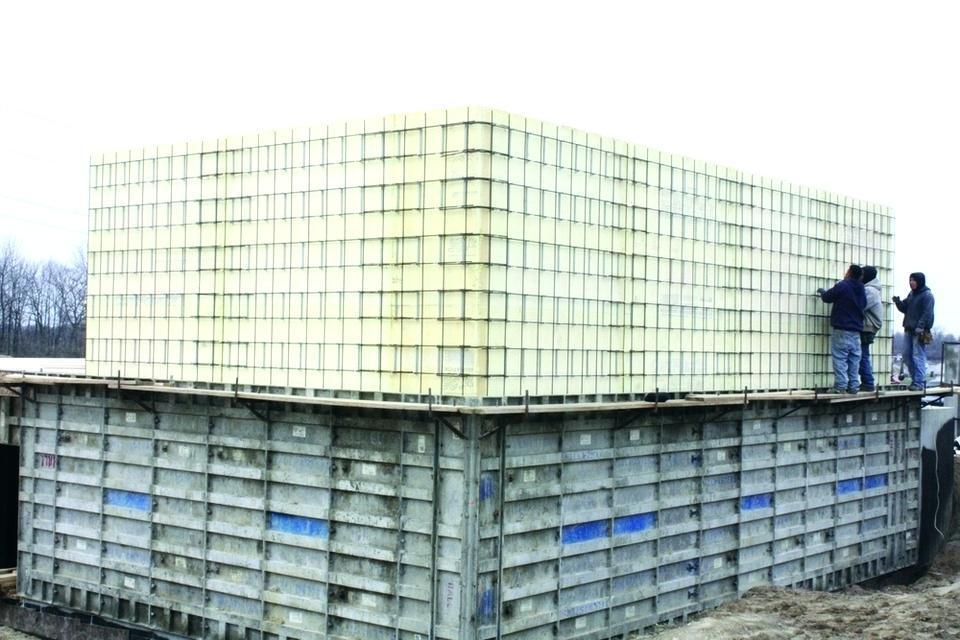 Insulated Concrete Forms Cost Per Square Foot