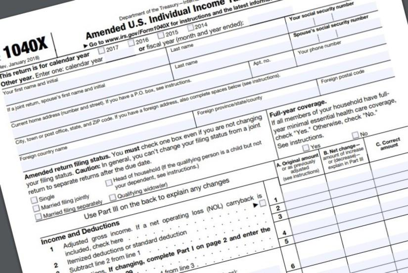 Irs Forms 1040x 2015