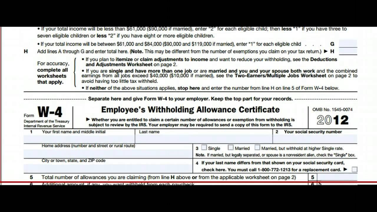 Irs Forms W 4p 2017