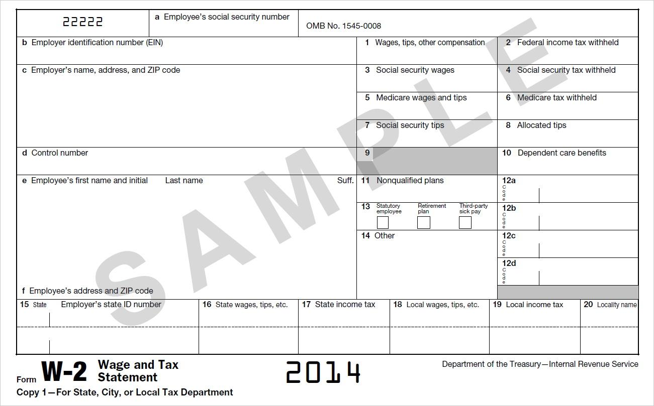 Irs Forms W2 And W3 2017