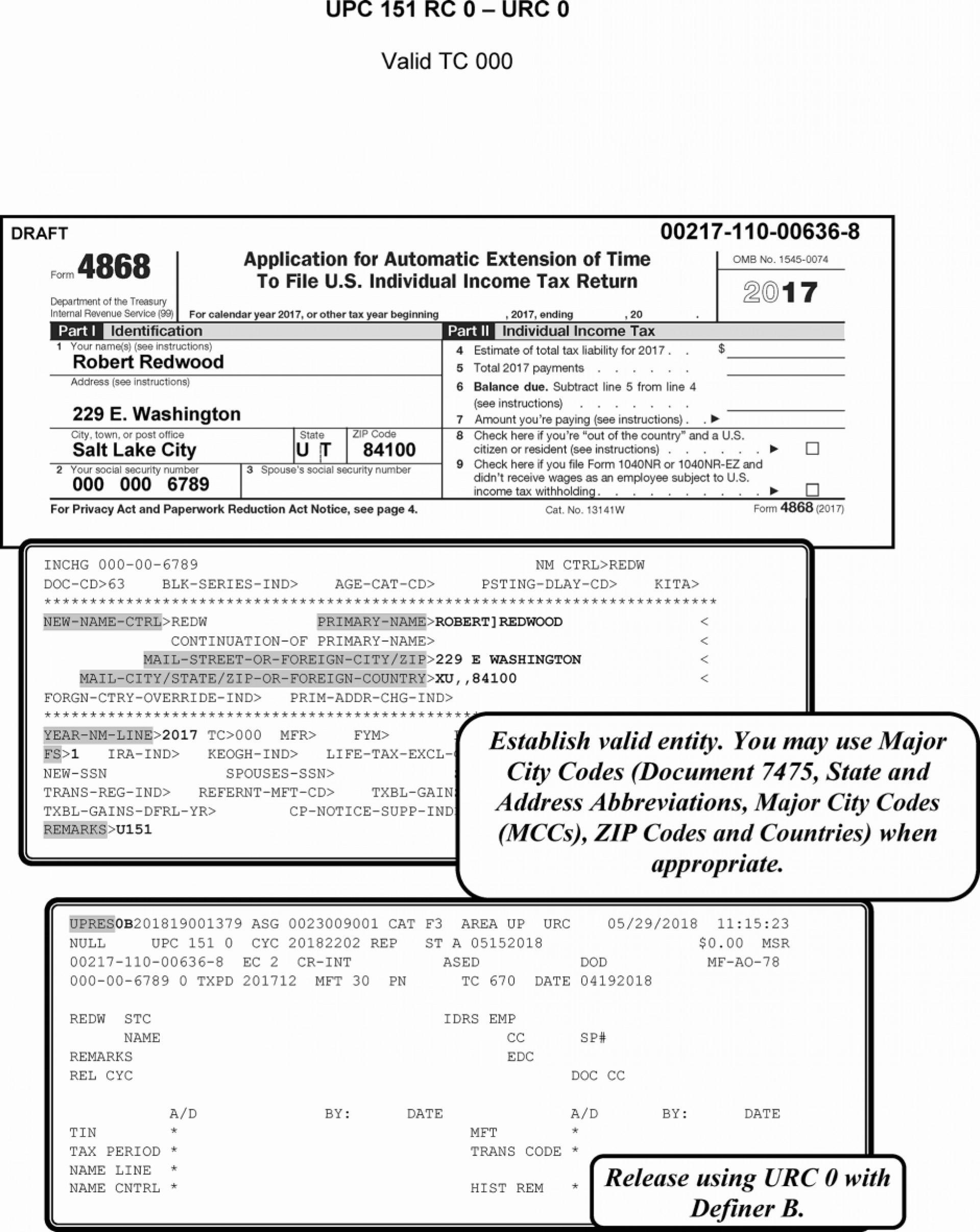 Irs Gov Form 4868 E File