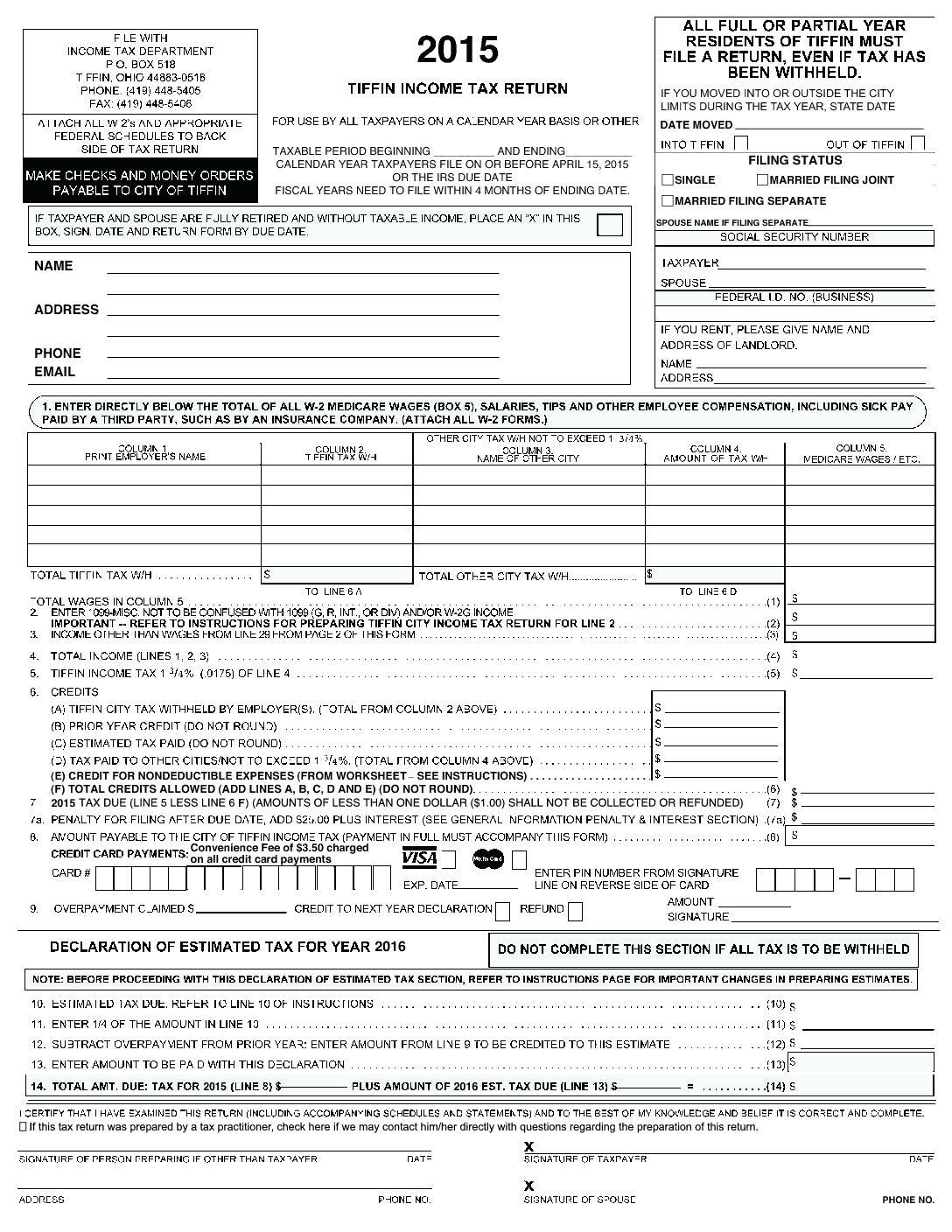 Irs Tax Form 1040a 2015 Instructions