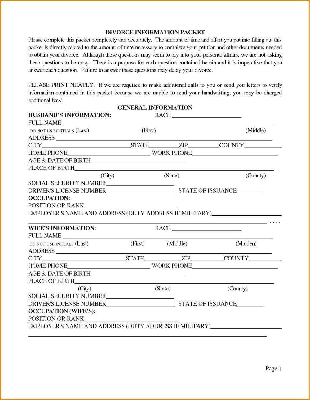 Johnson County Iowa Divorce Forms