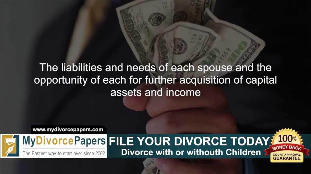 Massachusetts Divorce Filing Fee