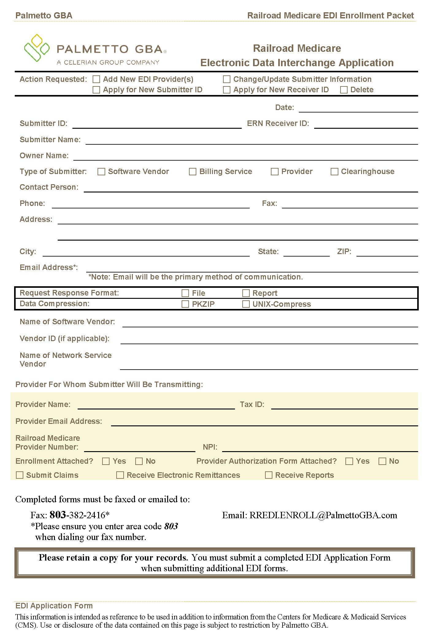 Medicare Part B Application Forms