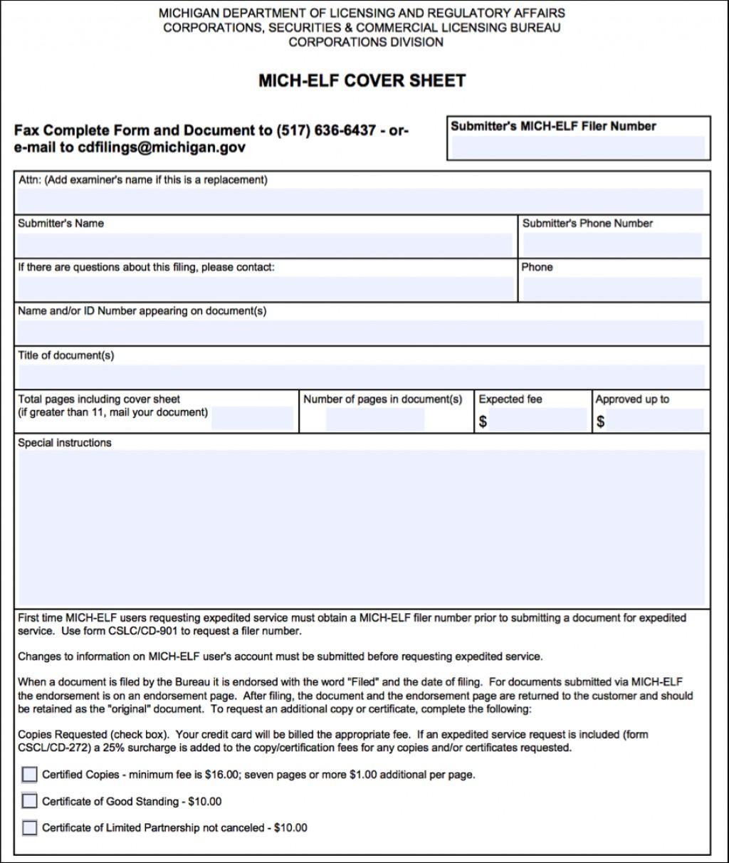 Michigan Llc Filing Forms
